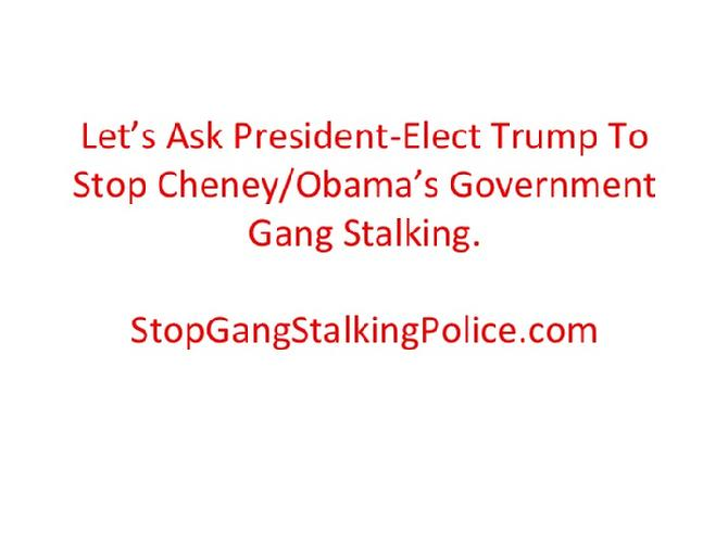 Stop Oceanside and Carlsbad Police From Gang Stalking Citizens